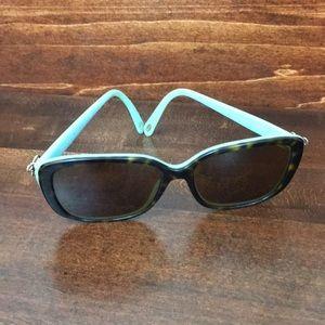 Tiffany & Co. TF 4092 Sunglasses Havana Blue